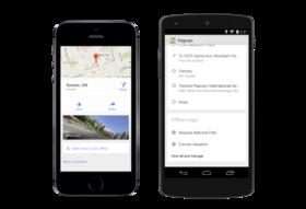 Google Maps 發布重大更新:整合 Uber 叫車服務、加入離線地圖