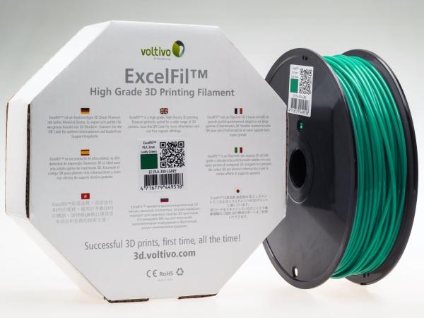 高品質高精度3D列印耗材ExcelFil™ 創造更美好的3D列印經驗!
