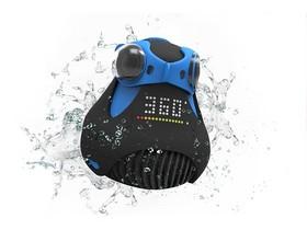 一鍵完成360度攝影的 360Cam ,一天就完成募款!可以潛水,還可以裝進燈泡底座當監視器