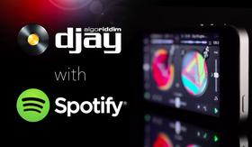 串流音樂新玩法,Spotify 與 iOS 混音軟體 Djay 合作,讓玩家用串流音樂製作混音專輯