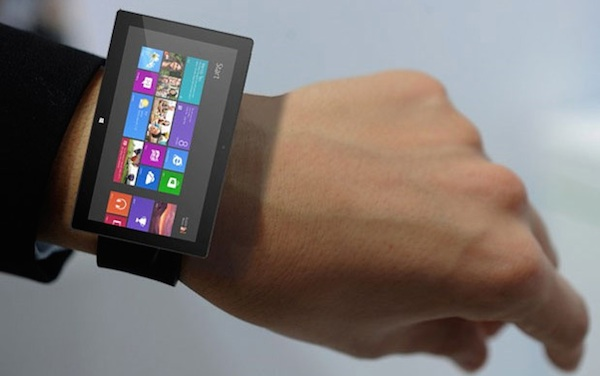 智慧手錶,微軟也要參一腳