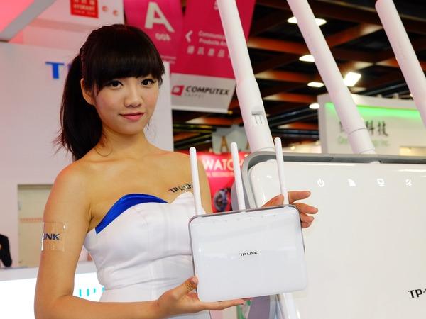 Computex 2014: TP-LINK 展出 1900Mbps 超高速 Archer C9 無線路由器與 4G LTE-A WiFi 分享器