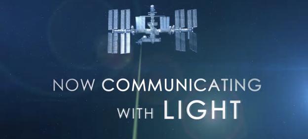 NASA 使用太空雷射從太空站下載影片,速度直逼 DSL