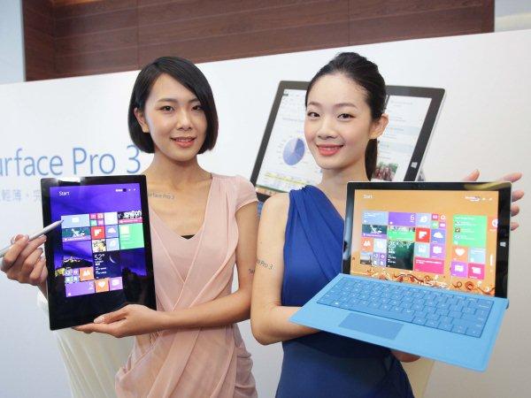 極致輕巧、效能強大!Surface Pro 3筆電巧妙融合平板特色於筆電,台灣列為首波海外上市名單!
