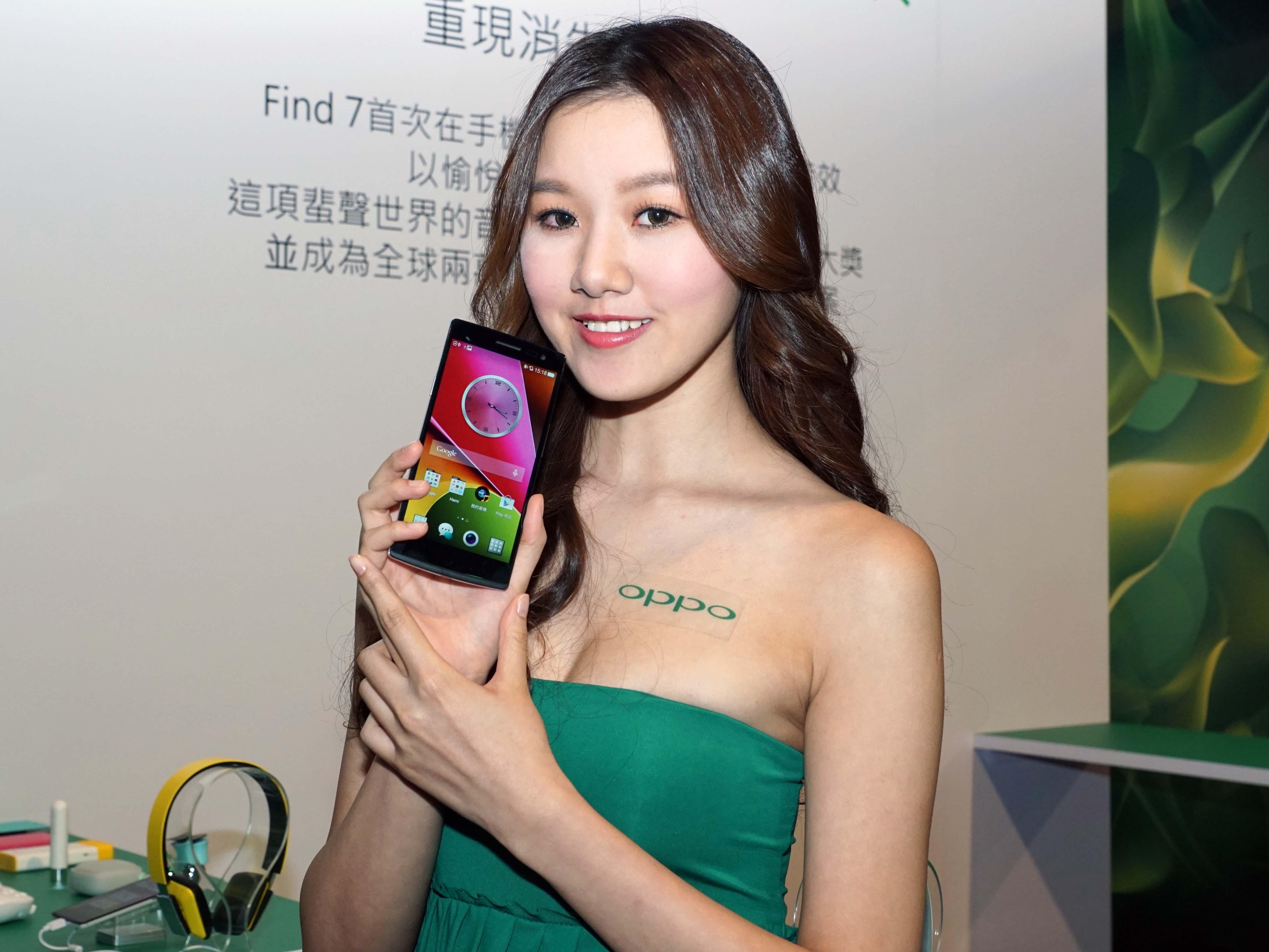 OPPO 搶進台灣 Find 7正式上市,售價 16,990 元