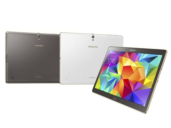 Samsung Galaxy Tab S 正式發表:2560x1600 超高解析度、6.6mm 纖薄外型