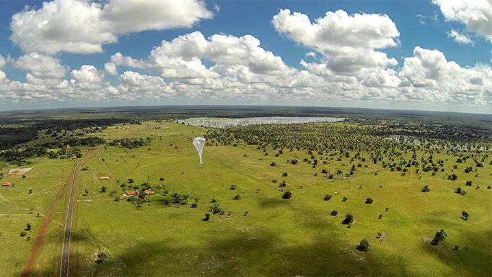Google 高空氣球 Project Loon 2015年啟動,LTE 網路提供 176Mbps 上網速度
