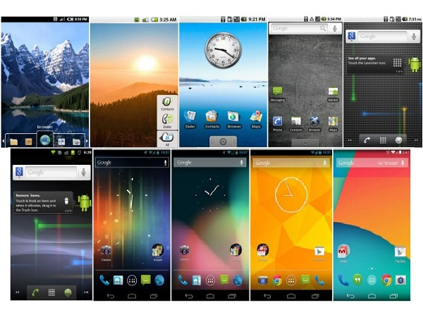 Android 進化史,那些年我們一起用過的介面