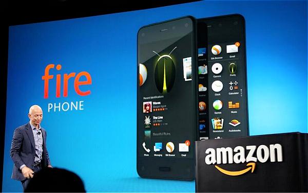 Amazon fire Phone:動態 3D 顯示、Firefly 掃描實體連結線上商店,將消費者一網打盡