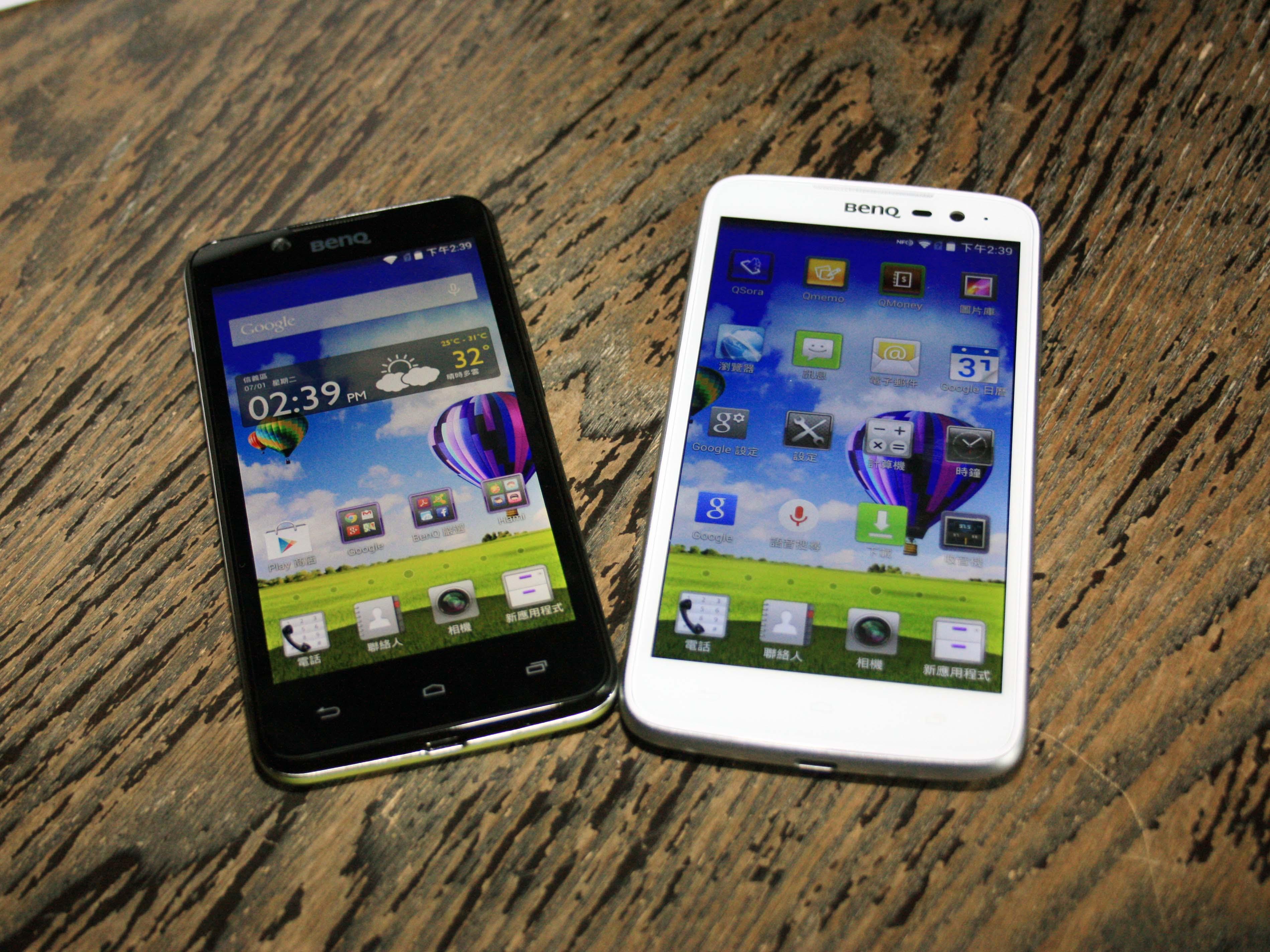 BenQ 發表 F5、T3 兩款萬元以下四核 4G 手機