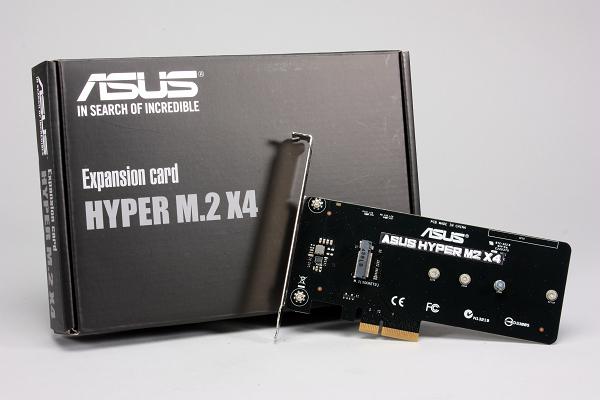 Asus Hyper M.2 x4 轉接卡,花小錢讓固態硬碟突破 SATA 6Gb/s 頻寬枷鎖