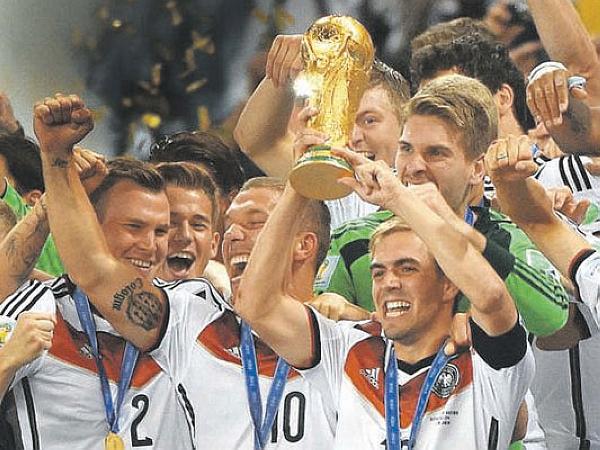 奪世界盃冠軍需要實力,還需要像德國隊一樣選對科技工具