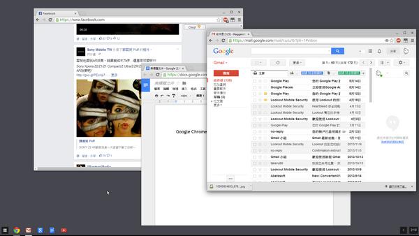 OS 上雲端!Chrome 桌面帶著跑