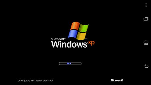 在Android手機上跑Windows XP實作
