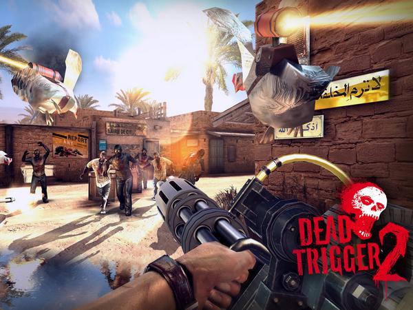 Dead Trigger 2:2013年行動裝置最強殭屍射擊大作!