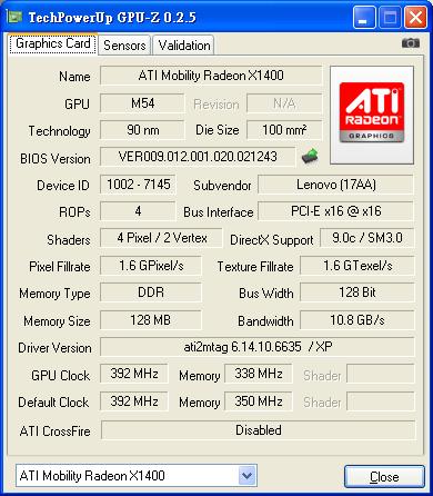 最新版CPU-Z 1.46 & GPU-Z v0.2.5推出
