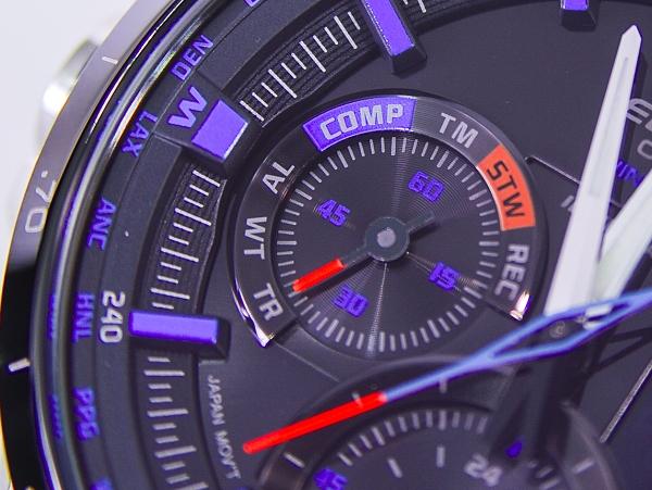 CASIO EDIFICE ERA-300DB:數位雙顯,電子指北針,高階多功能運動錶