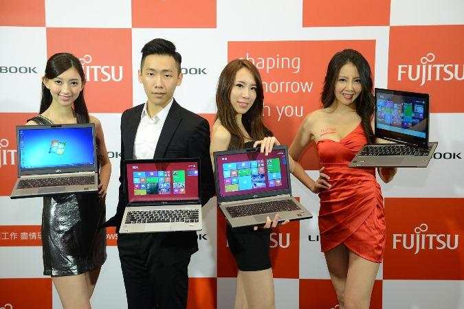 富士通推出內建4G/LTE全新商務筆電  打造「純‧輕量‧零角度」思維 積極搶攻商務筆電市場