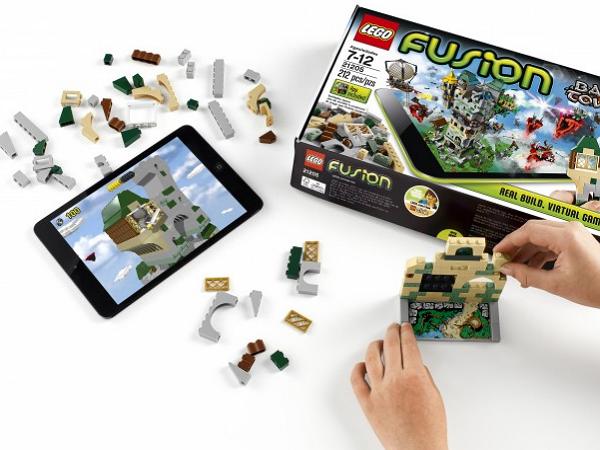 虛擬與現實積木結合!樂高推出 iPad 系列積木組