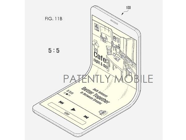 摺疊手機再現? Samsung 申請螢幕摺疊專利