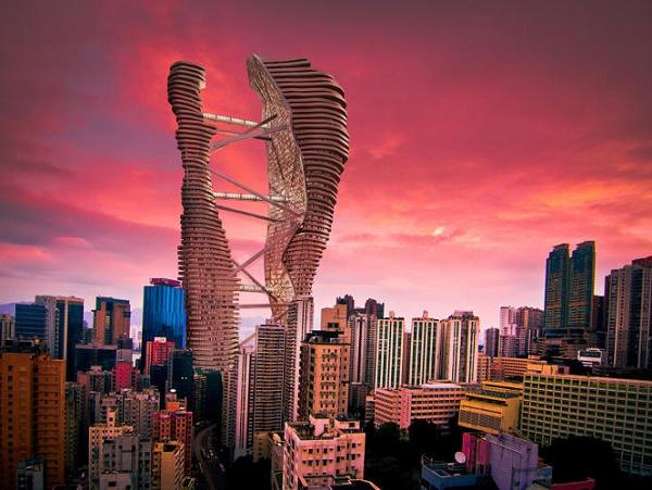 一座摩天大樓,就是一座完整的城市系統