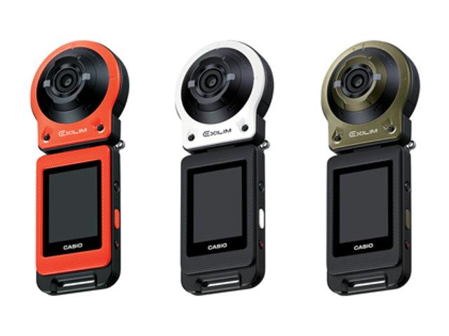 CASIO自拍神器,鏡頭螢幕分離設計