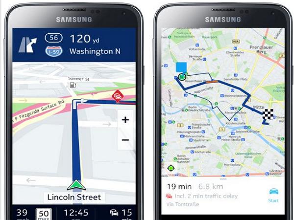 昔日對手今日盟友,三星取得 Nokia Here 地圖使用權