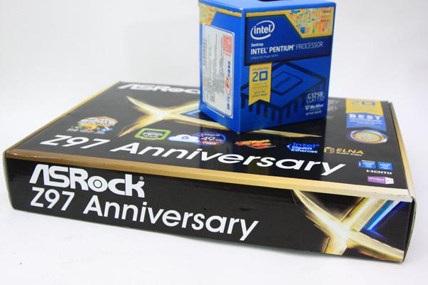 ASRock Z97 Anniversary,Pentium 20週年慶處理器超值搭配主機板