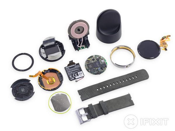 IFIXIT 完全拆解 Moto 360,核心為 TI OMAP 3