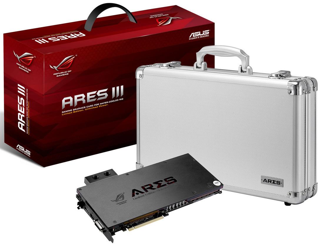 華碩 ARES III 國外搶先實測,溫度略高於公板不如預期理想