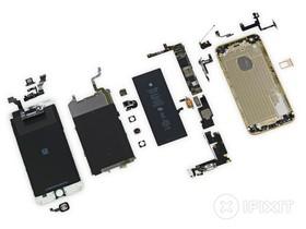 IFIXIT 把 iPhone 6 Plus 拆解:搭載 1G RAM、2,915 mAh 電池容量