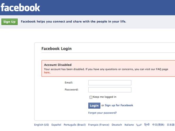 當獨裁的臉書把你帳號停權,你能怎麼辦
