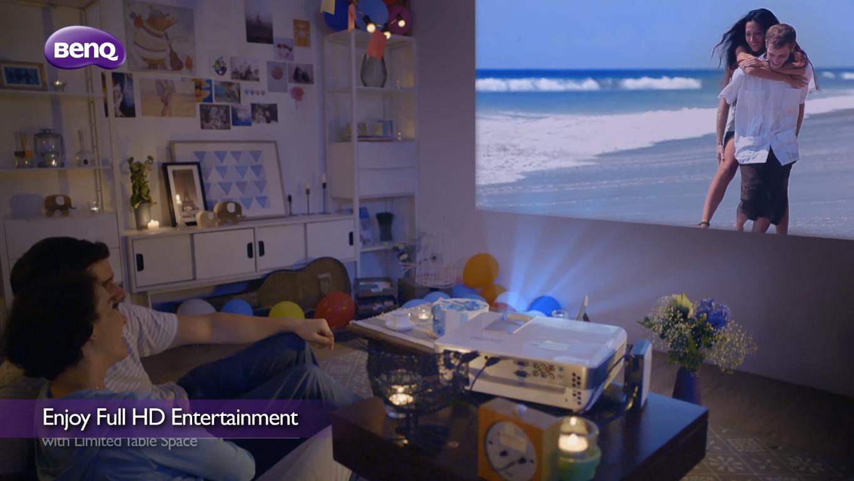 BenQ三坪機打造微空間視聽美學  2014新品視聽影音體驗活動 開跑  親身體驗3坪小空間擁抱百吋Full HD大畫面,感受震撼視聽影音!