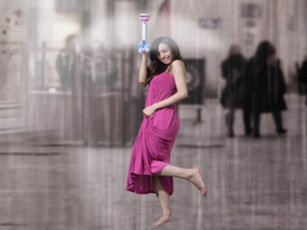 這把高科技「空氣傘」,比 2000 年前老祖宗的發明還沒用