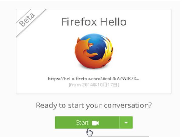 Firefox 會說 Hello !首創免帳號免費打視訊語音電話