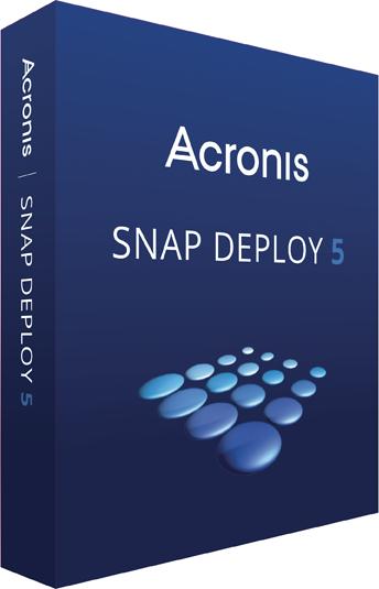 Acronis Snap Deploy 5全新發布 –  工作站及伺服器配置、設定、影像重新製作較稍早版本加速兩倍