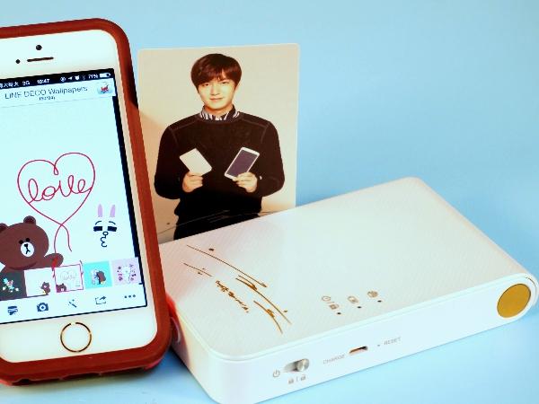 LG Pocket photo 3.0口袋相印機:即拍即印,手機上的拍立得