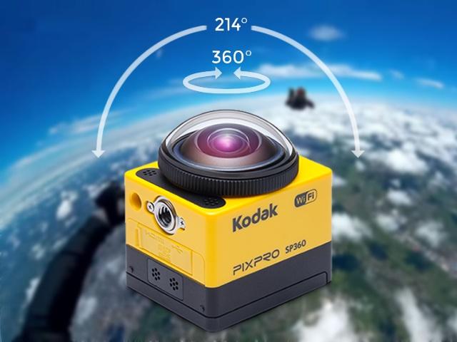 全景照片落伍了,用Kodak Pixpro SP360拍下全景影片