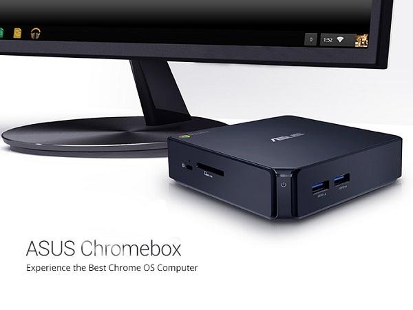 華碩推迷你桌上型電腦 Chromebox CN60,開機就能立刻使用