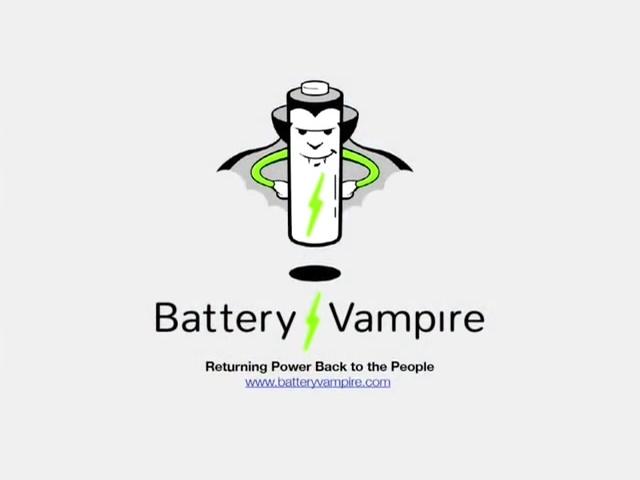 電池吸血鬼,助你榨乾電池殘存電力