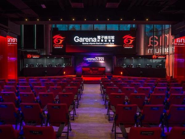 Garena耗資千萬打造電子競技館,結合電競攝影棚及玩家互動概念