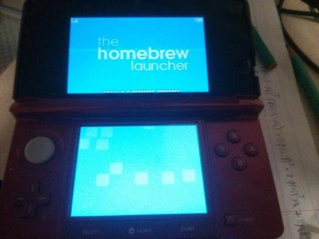 任天堂N3DS破解,最新版本韌體也可玩自製程式