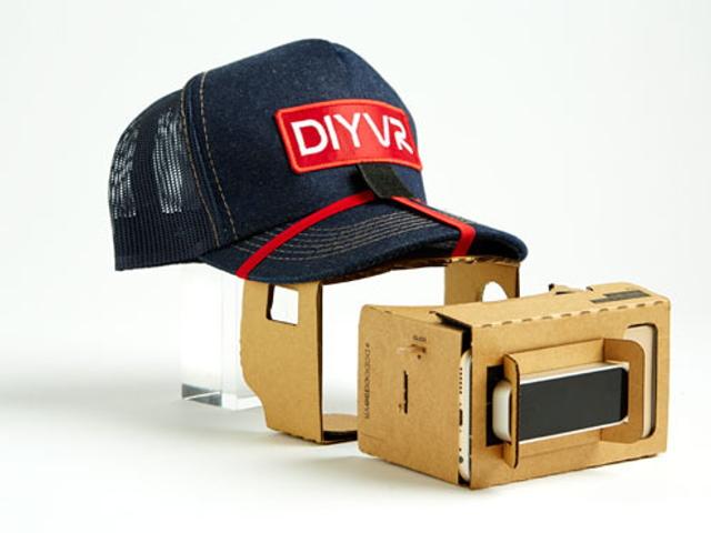 全開放平台,用厚紙板打造土砲虛擬實境