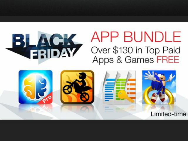 黑色星期五大優惠,Amazon App Store 送你4000元 App