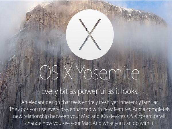 Yosemite常遇到惱人的Wi-Fi故障?升級OS X 10.10.2試試吧