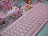 【鍵專欄】草莓季就是要用粉紅娘炮鍵盤!