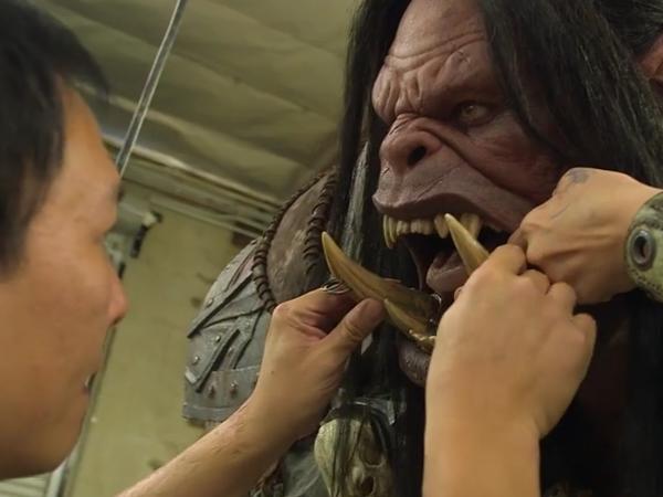 【BZCON14】《葛羅瑪許‧地獄吼》雕像製作過程影片曝光,完整還原人物真實身形