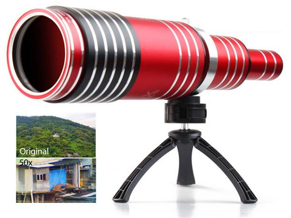 手機也能裝大砲來打鳥,超威80倍光學變焦鏡頭!