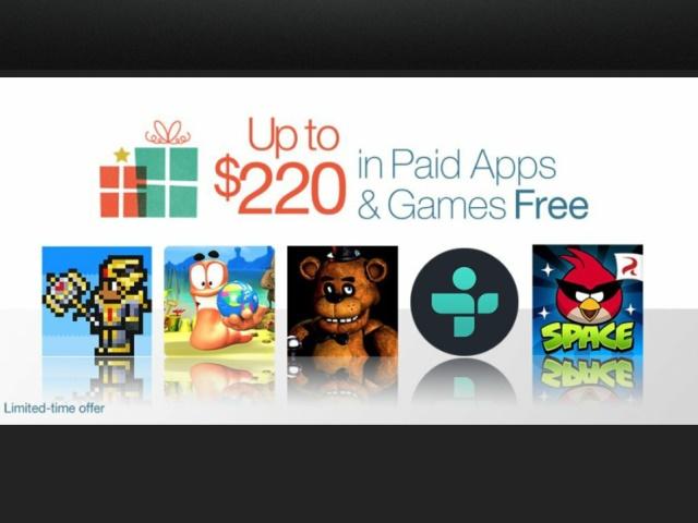 聖誕節大放送,Amazon App Store送你價值超過6,800元App