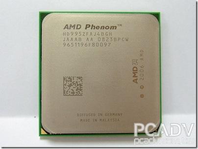 測試Phenom X4 9950遇到的靈異現象
